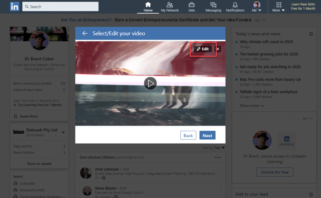How to Automatically Add Subtitles to Your LinkedIn Video (for free) 16