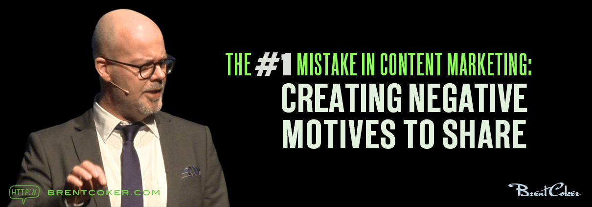 CREATING NEGATIVE MOTIVES TO SHARE