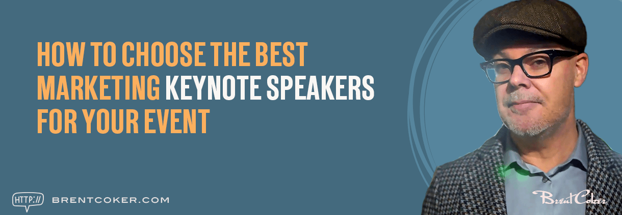 How to choose the best marketing keynote speakers for your event